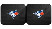 "Fan Mats 12348  MLB - Toronto Blue Jays 14"" x 17"" Utility Mats 2 per Package"