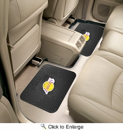 "Fan Mats 12375  NBA - Los Angeles Lakers 14"" x 17"" Utility Mats 2 per Package"