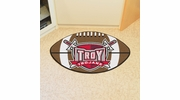 "Fan Mats 1252  Troy University Trojans 20.5"" x 32.5"" Football Shaped Area Rug"