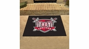 "Fan Mats 1257  Troy University Trojans 33.75"" x 42.5"" All-Star Series Area Rug / Mat"