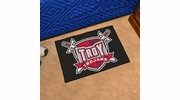 "Fan Mats 1258  Troy University Trojans 19"" x 30"" Starter Series Area Rug / Mat"