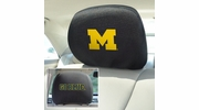 "Fan Mats 12582  University of Michigan Wolverines 10"" x 13"" Head Rest Covers"
