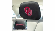"Fan Mats 12590  University of Oklahoma Sooners 10"" x 13"" Head Rest Covers"