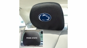 """Fan Mats 12592  Penn State Nittany Lions 10"""" x 13"""" Head Rest Covers"""
