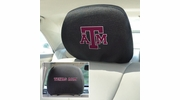 "Fan Mats 12595  Texas A&M University Aggies 10"" x 13"" Head Rest Covers"