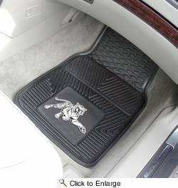 "Fan Mats 12923  Jackson State University Tigers 17"" x 27"" 2-pc Vinyl Car Mat Set"