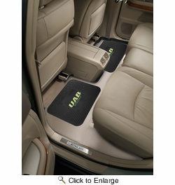 "Fan Mats 13212  University of Alabama at Birmingham Blazers 14"" x 17"" Utility Mats 2 per Package"