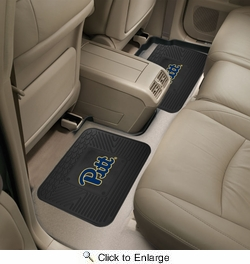 "Fan Mats 13225  University of Pittsburgh Panthers 14"" x 17"" Utility Mats 2 per Package"