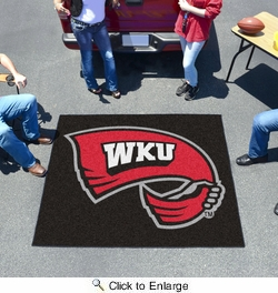 Fan Mats 1329  WKU - Western Kentucky University Hilltoppers 5' x 6' Tailgater Mat / Area Rug