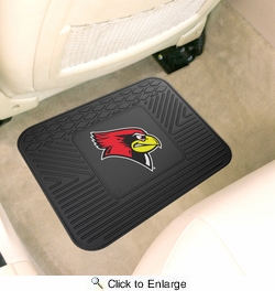 "Fan Mats 13293  Illinois State University Redbirds 14"" x 17"" Utility Mat"