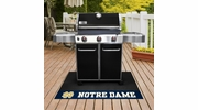 "Fan Mats 13323  University of Notre Dame Fighting Irish 26"" x 42"" Grill Mat"