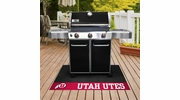 "Fan Mats 13327  University of Utah Utes 26"" x 42"" Grill Mat"