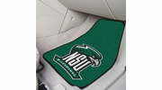 "Fan Mats 13664  Northeastern State University River Hawks 17"" x 27"" 2-pc Carpet Car Mat Set"