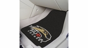 "Fan Mats 13695  Southern Illinois University - Edwardsville Cougars 17"" x 27"" 2-pc Carpet Car Mat Set"