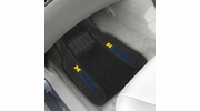 "Fan Mats 13813  University of Michigan Wolverines 21"" x 27"" Deluxe Car Mat Set"