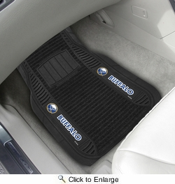 "Fan Mats 13858  NHL - Buffalo Sabres 21"" x 27"" Deluxe Car Mat Set"