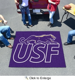 Fan Mats 13867  University of Sioux Falls Cougars 5' x 6' Tailgater Mat