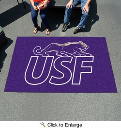 Fan Mats 13868  University of Sioux Falls Cougars 5' x 8' Ulti-Mat