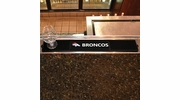 "Fan Mats 13984  NFL - Denver Broncos 3.25"" x 24"" Drink Mat"