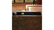 "Fan Mats 14019  University of Michigan Wolverines 3.25"" x 24"" Drink Mat"