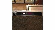 "Fan Mats 14033  Virginia Tech Hokies 3.25"" x 24"" Drink Mat"