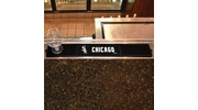 "Fan Mats 14043  MLB - Chicago White Sox 3.25"" x 24"" Drink Mat"