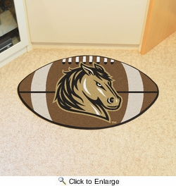 "Fan Mats 14083  Southwest Minnesota State University Mustangs 20.5"" x 32.5"" Football Mat"