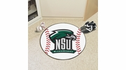 "Fan Mats 14108  Northeastern State University River Hawks 27"" diameter Baseball Mat"