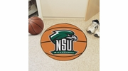 "Fan Mats 14109  Northeastern State University River Hawks 27"" diameter Basketball Mat"