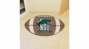 "Fan Mats 14110  Northeastern State University River Hawks 20.5"" x 32.5"" Football Mat"