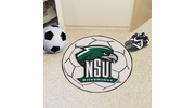 "Fan Mats 14111  Northeastern State University River Hawks 27"" diameter Soccer Ball Mat"