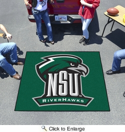 Fan Mats 14113  Northeastern State University River Hawks 5' x 6' Tailgater Mat