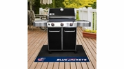 "Fan Mats 14232  NHL - Columbus Blue Jackets 26"" x 42"" Grill Mat"