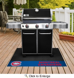 "Fan Mats 14239  NHL - Montreal Canadiens 26"" x 42"" Grill Mat"