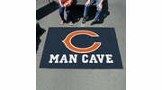 Fan Mats 14282  NFL - Chicago Bears 5' x 8' Man Cave Ulti-Mat