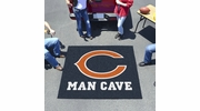 Fan Mats 14283  NFL - Chicago Bears 5' x 6' Man Cave Tailgater Mat