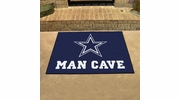 "Fan Mats 14292  NFL - Dallas Cowboys 33.75"" x 42.5"" Man Cave All-Star Mat"