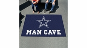 Fan Mats 14294  NFL - Dallas Cowboys 5' x 8' Man Cave Ulti-Mat