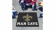 Fan Mats 14339  NFL - New Orleans Saints 5' x 6' Man Cave Tailgater Mat
