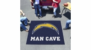 Fan Mats 14363  NFL - San Diego Chargers 5' x 6' Man Cave Tailgater Mat