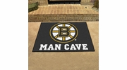 "Fan Mats 14393  NHL - Boston Bruins 33.75"" x 42.5"" Man Cave All-Star Mat"