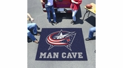 Fan Mats 14420  NHL - Columbus Blue Jackets 5' x 6' Man Cave Tailgater Mat