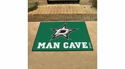 "Fan Mats 14421  NHL - Dallas Stars 33.75"" x 42.5"" Man Cave All-Star Mat"