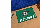 "Fan Mats 14422  NHL - Dallas Stars 19"" x 30"" Man Cave Starter Mat"