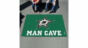 Fan Mats 14423  NHL - Dallas Stars 5' x 8' Man Cave Ulti-Mat