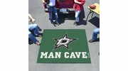 Fan Mats 14424  NHL - Dallas Stars 5' x 6' Man Cave Tailgater Mat