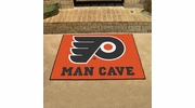 "Fan Mats 14469  NHL - Philadelphia Flyers 33.75"" x 42.5"" Man Cave All-Star Mat"