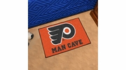 "Fan Mats 14470  NHL - Philadelphia Flyers 19"" x 30"" Man Cave Starter Mat"
