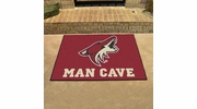"Fan Mats 14473  NHL - Arizona Coyotes 33.75"" x 42.5"" Man Cave All-Star Mat"