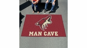 Fan Mats 14475  NHL - Arizona Coyotes 5' x 8' Man Cave Ulti-Mat